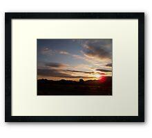 Arizona Sunrise Framed Print