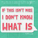 If this isn't nice, I don't know what is by desaline