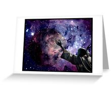 In the beginning God created the heavens and the earth. Greeting Card