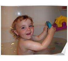 fun in the tub  Poster