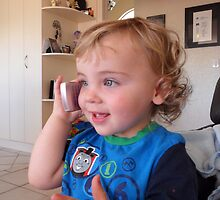HI mummy, not im not ready to come home yet :-) by chrissy mitchell