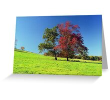 Autumn Trees, New England Greeting Card