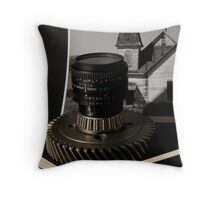 Camera Gear Throw Pillow