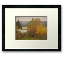 Reservoir Spring Framed Print