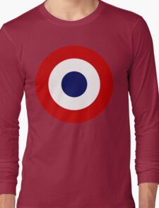 French Air Force Insignia Long Sleeve T-Shirt