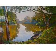Autumn Morning - Goulburn River Photographic Print