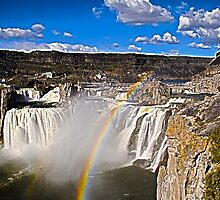 shoshone falls by Terrell Bird