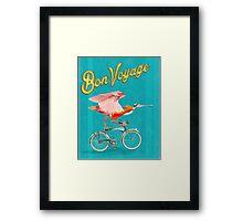 Bon Voyage! Framed Print