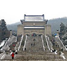 Sun Yat Sen Mausoleum, Nanjing, China by DaveLambert