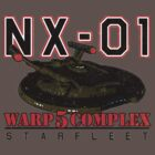 Warp 5 Complex NX-01 Full Back by Jeffery Wright