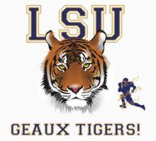 Geaux Tigers! Kids Tee