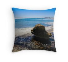 The lonely Rock Throw Pillow