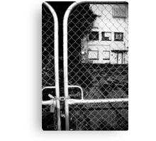 not welcome anymore Canvas Print