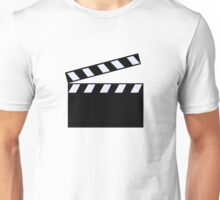 Film Clapper Board Unisex T-Shirt