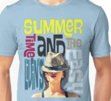 """""""summer time and the livin's easy"""" - sublime (2) Unisex T-Shirt"""