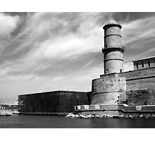 Old and new at Marseille - France Photographic Print