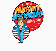 Hillary Clinton - Pantsuit Aficionado Womens Fitted T-Shirt