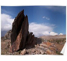 Prayer Rocks - Route 66 Poster