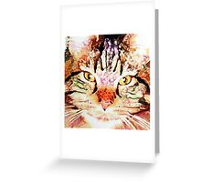 Elemental Cats: Earth Greeting Card