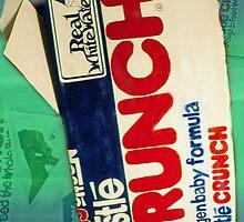Crunch bar wrapper by Ellen Turner