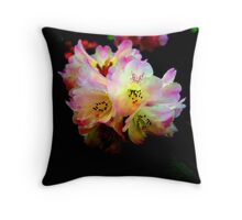 """Colorful Rhodies"" Throw Pillow"