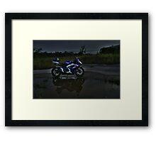 Gsxr 750 Framed Print