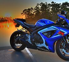 Gsxr At Sunrise by Philtography