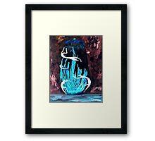 Dancers of the Blue Fire Jar Framed Print