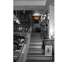 Cigar Store in Grey Photographic Print