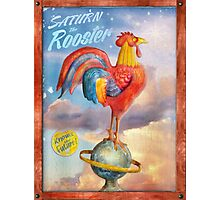 Saturn the Rooster. Photographic Print