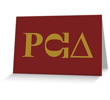 PCU – South Park fraternity, PC Principal Greeting Card
