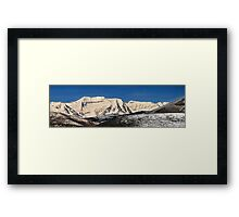 Layers of Hills  and Timpanogos Framed Print