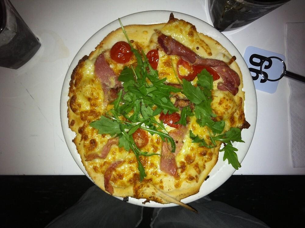 Pizza Prosciutto Con Formaggio by Team Bimbo