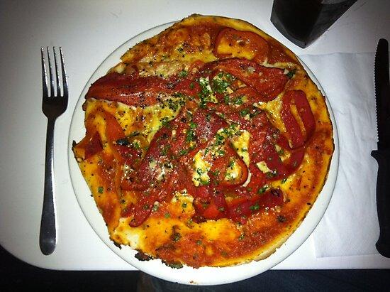 Pizza Peperonata by Team Bimbo