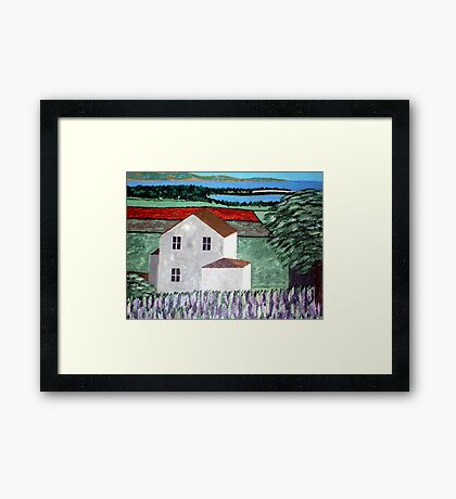 Summer Breeze Off The Lake Framed Print