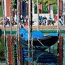 Lunchtime, Venice by Freda Surgenor