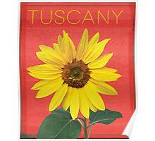 Tuscany. Poster