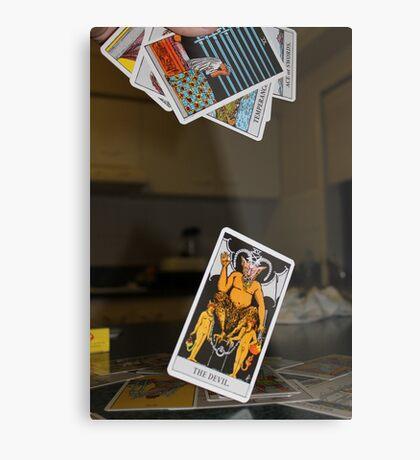 Tarot Cards Metal Print
