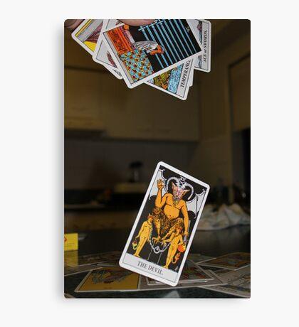 Tarot Cards Canvas Print