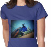 Peacock on a Windowsill Flower Box T-Shirt