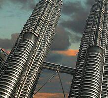 Petronas Twin Towers by debbiemc