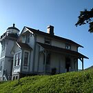 """""""L is for Lighthouse: Old Point San Luis Lighthouse"""" by waddleudo"""