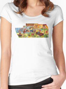 Risk & Reward Women's Fitted Scoop T-Shirt