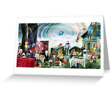 Imminent Arrival Greeting Card