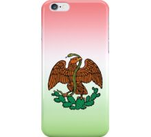 color mexican eagle iPhone Case/Skin