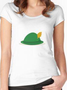 Oktoberfest hat Women's Fitted Scoop T-Shirt
