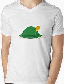 Oktoberfest hat Mens V-Neck T-Shirt