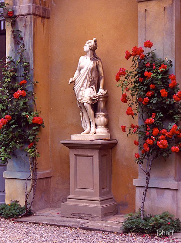 Garden Sculpture, Florence, Italy. by johnrf