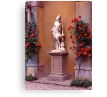 Garden Sculpture, Florence, Italy. Canvas Print