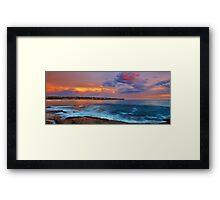The Northern Light - Maroubra NSW Framed Print